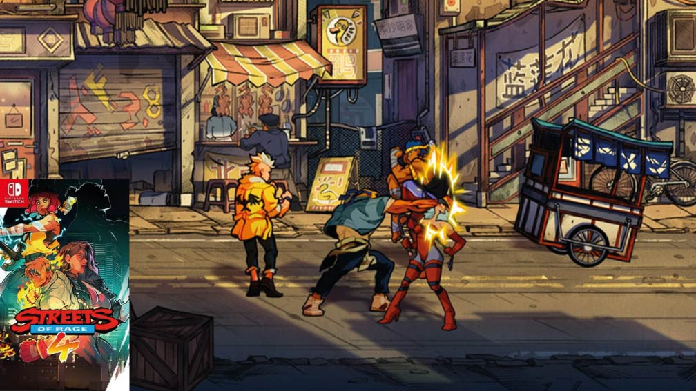 STREETS OF RAGE 4 🎮 SWITCH ROM NSP