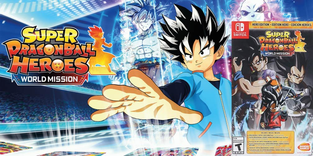 SUPER DRAGON BALL HEROES WORLD MISSION 🎮 SWITCH ROM NSP