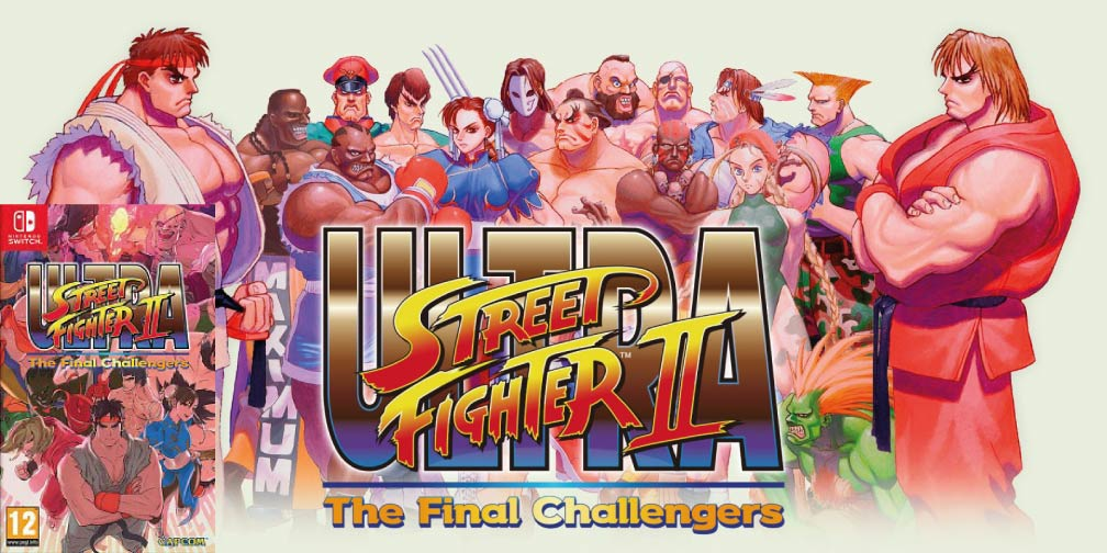 ULTRA STREET FIGHTER 2 THE FINAL CHALLENGERS 🎮 SWITCH ROM NSP