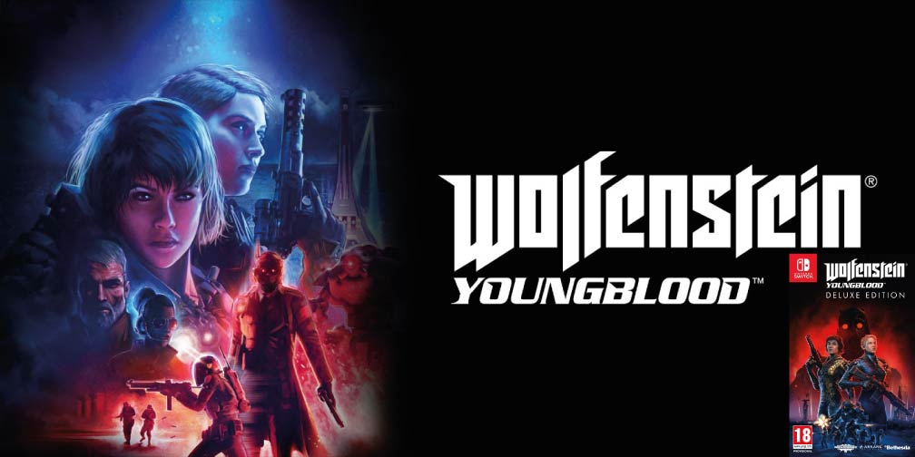 WOLFENSTEIN YOUNGBLOOD 🎮 SWITCH ROM NSP