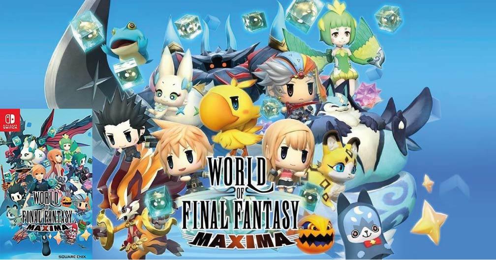 WORLD OF FINAL FANTASY MAXIMA 🎮 SWITCH ROM NSP