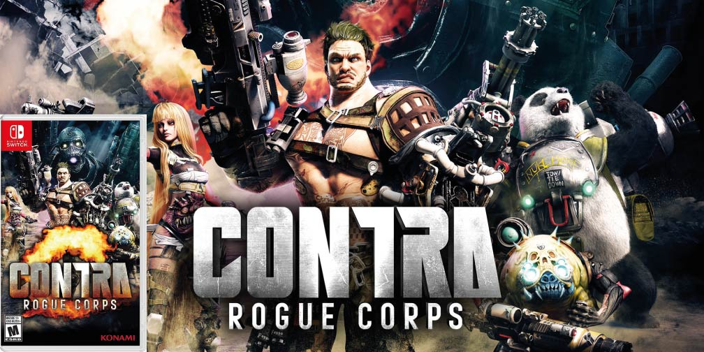 CONTRA ROGUE CORPS 🎮 SWITCH ROM NSP
