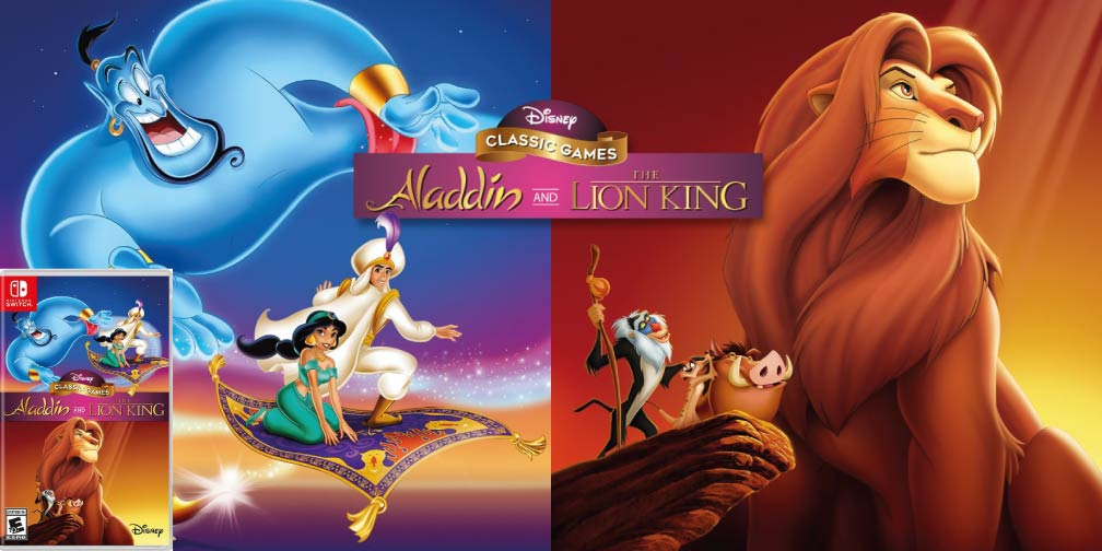 Disney Classic Games: Aladdin and The Lion King 🎮 Switch Rom NSP