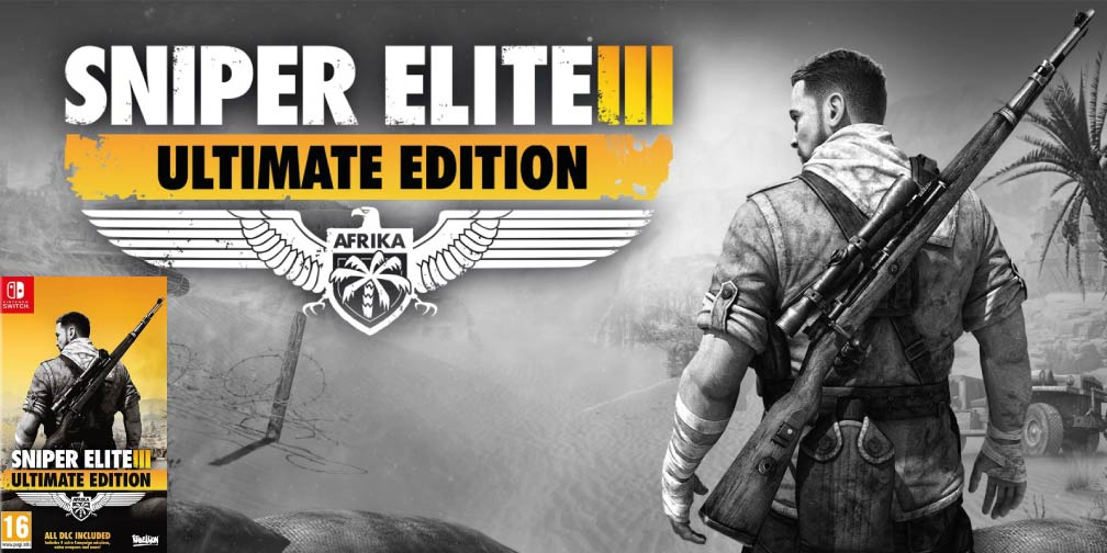 SNIPER ELITE 3 🎮 NINTENDO SWITCH ROM NSP