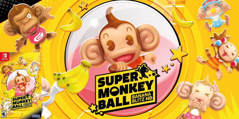 Super Monkey Ball: Banana Blitz HD 🎮 Switch Rom NSP