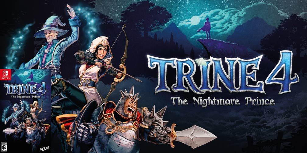 TRINE 4: THE NIGHTMARE PRINCE 🎮 SWITCH ROM NSP