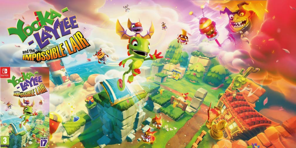 YOOKA LAYLEE AND THE IMPOSSIBLE LAIR 🎮 SWITCH ROM NSP