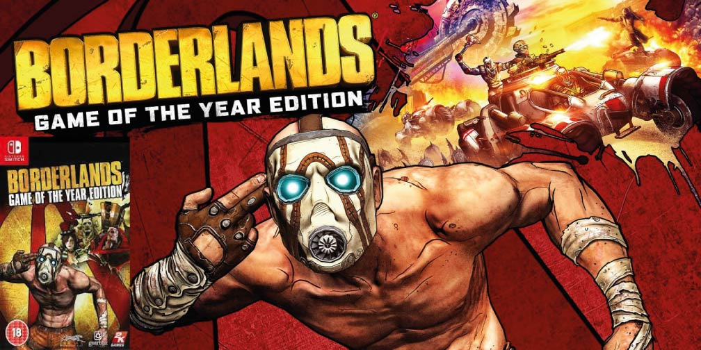 BORDERLANDS 1: GAME OF THE YEAR 🎮 SWITCH ROM NSP