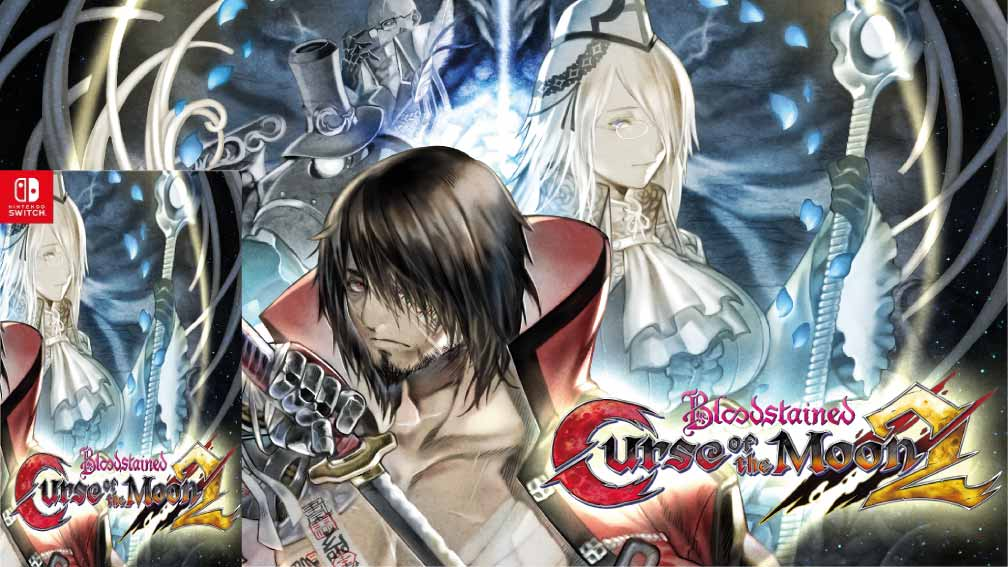 BLOODSTAINED CURSE OF THE MOON 2 🎮 SWITCH ROM
