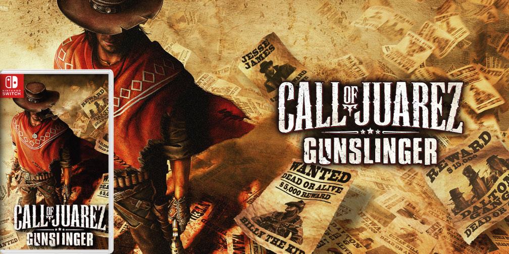CALL OF JUAREZ: GUNSLINGER 🎮 SWITCH ROM