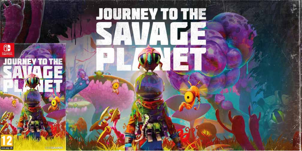 JOURNEY TO THE SAVAGE PLANET 🎮 SWITCH ROM