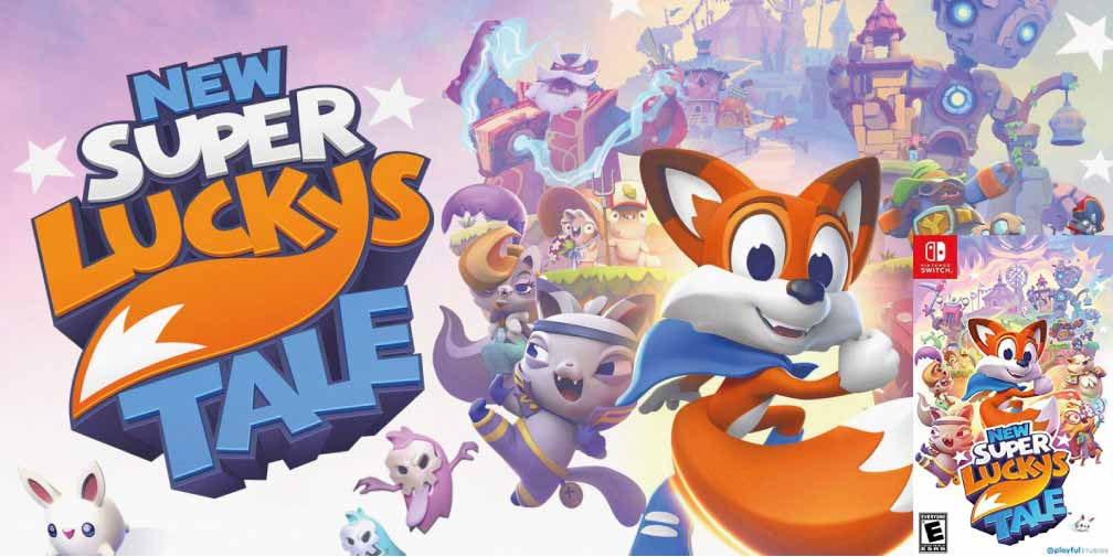NEW SUPER LUCKY'S TALE 🎮 SWITCH ROM