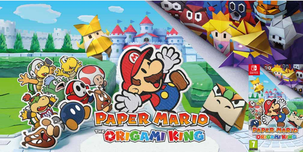 PAPER MARIO THE ORIGAMI KING 🎮 SWITCH ROM