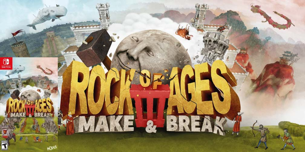 ROCK OF AGES 3: MAKE & BREAK 🎮 SWITCH ROM