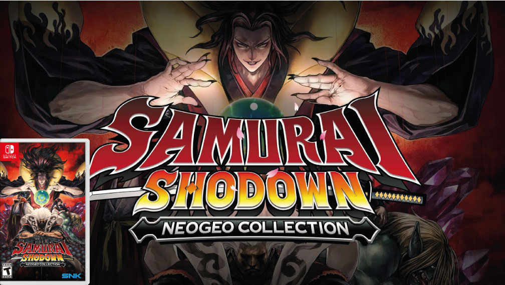 SAMURAI SHODOWN NEOGEO COLLECTION 🎮 SWITCH ROM