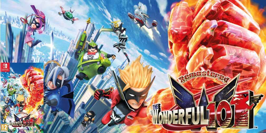 THE WONDERFUL 101 REMASTERED 🎮 SWITCH ROM