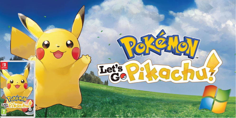 POKEMON LETS GO PIKACHU 🎮 SWITCH ROM