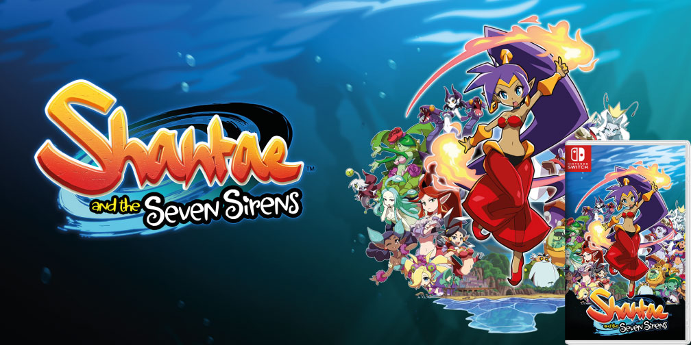 SHANTAE AND THE SEVEN SIRENS SWITCH