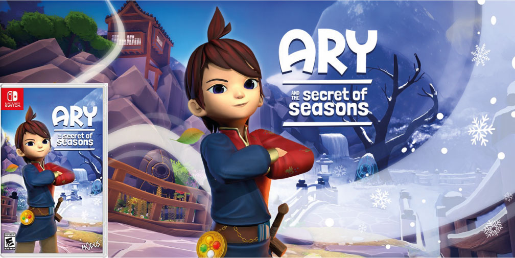 ARY AND THE SECRET OF SEASONS SWITCH ROM 🎮
