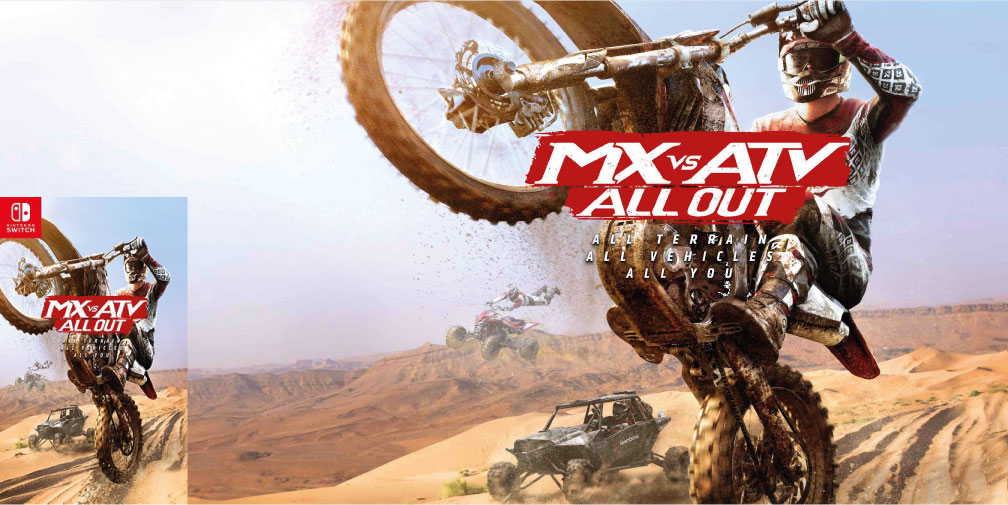 MX VS ATV ALL OUT SWITCH ROM 🎮
