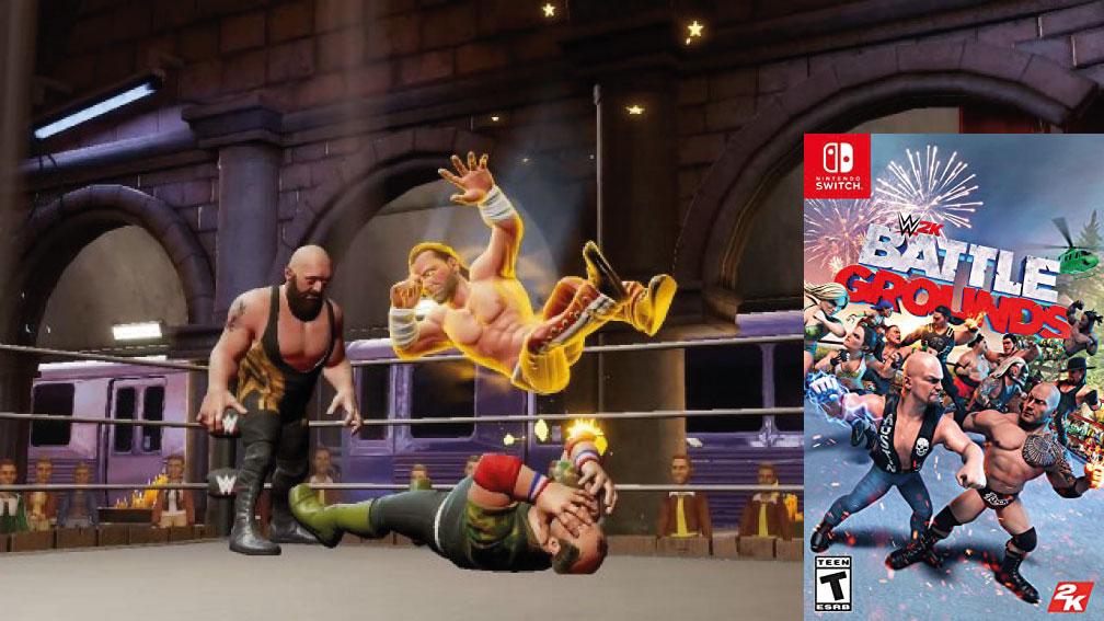 WWE 2K BATTLEGROUNDS SWITCH ROM 🎮
