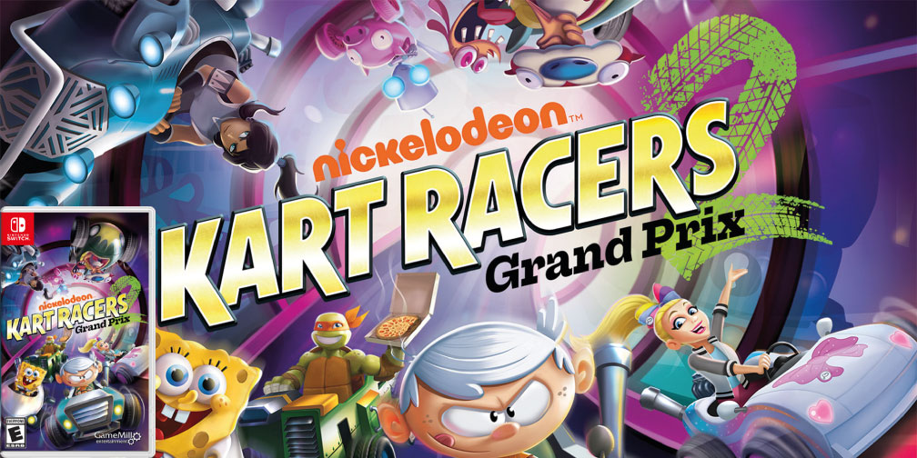 NICKELODEON KART RACERS 2 SWITCH