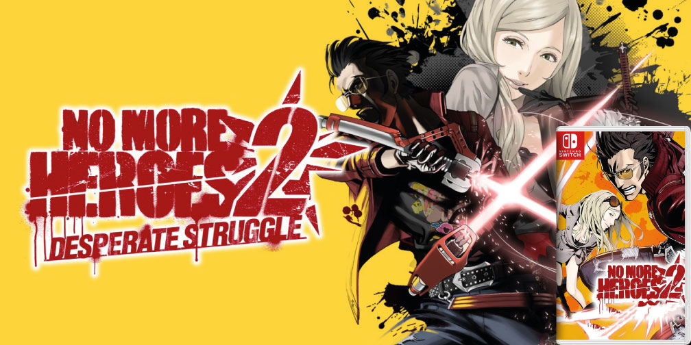 NO MORE HEROES 2 NINTENDO SWITCH ROM 🎮
