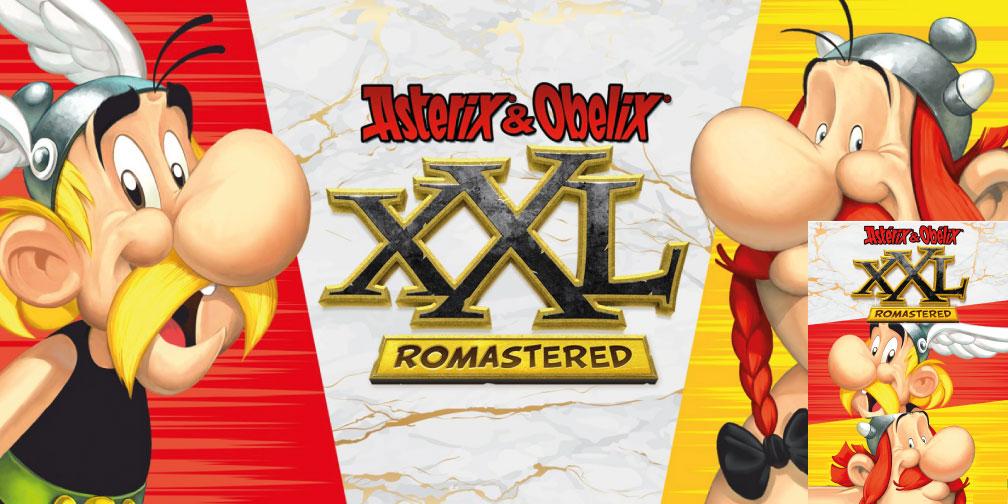 ASTERIX & OBELIX XXL ROMASTERED SWITCH ROM 🎮