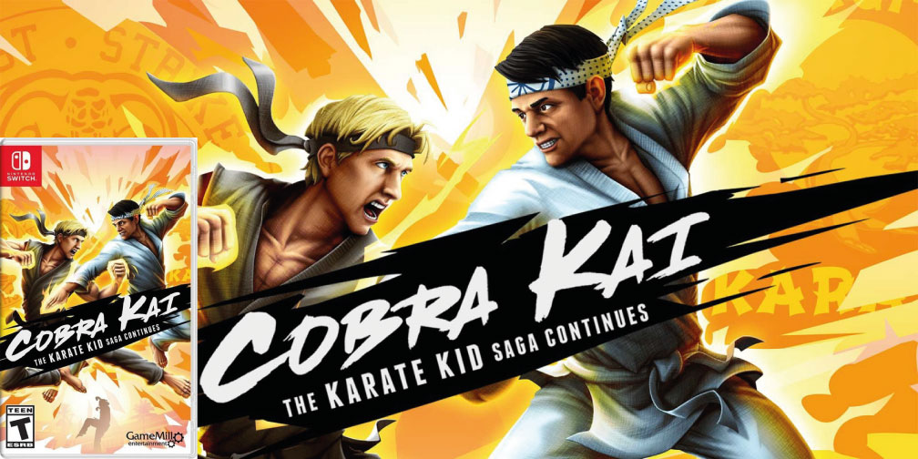 COBRA KAI THE KARATE KID SAGA CONTINUES SWITCH