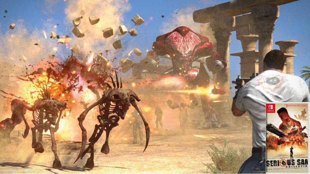 SERIOUS SAM COLLECTION SWITCH ROM 🎮