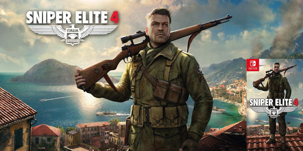 SNIPER ELITE 4 NINTENDO SWITCH ROM 🎮