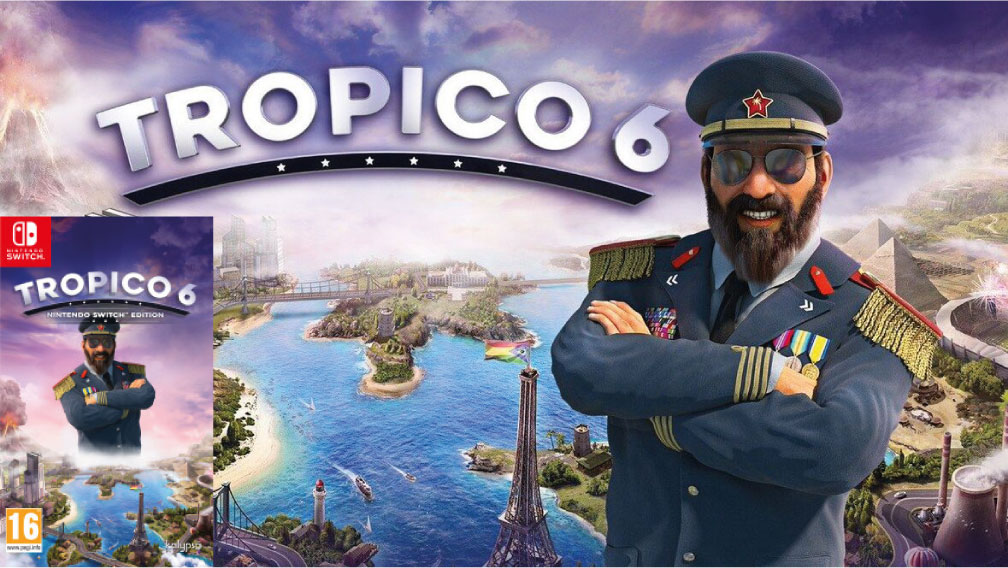 TROPICO 6 SWITCH ROM 🎮