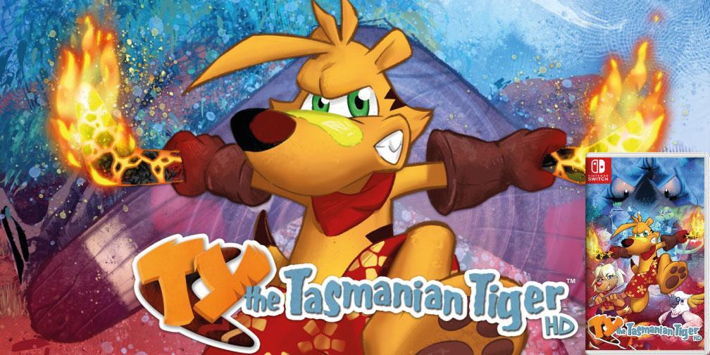 TY THE TASMANIAN TIGER HD SWITCH ROM 🎮