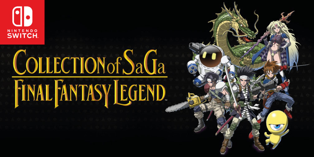 COLLECTION OF SAGA FINAL FANTASY LEGEND SWITCH ROM 🎮