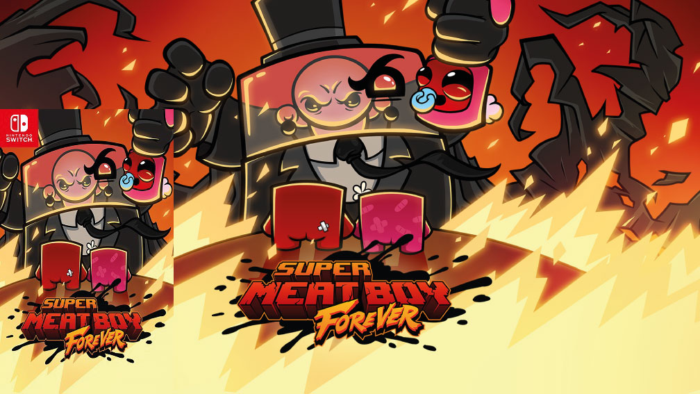 SUPER MEAT BOY FOREVER SWITCH ROM 🎮