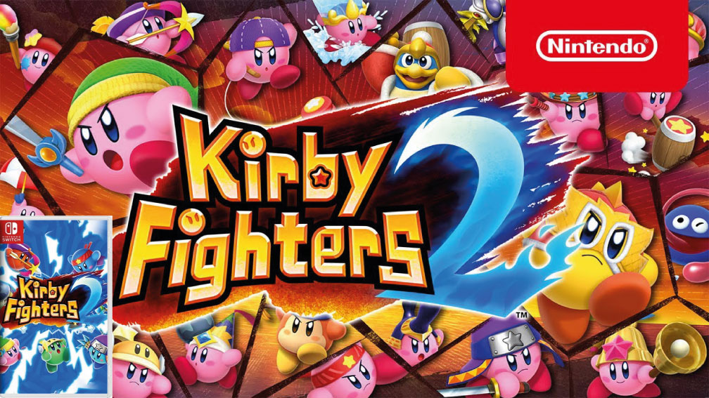 KIRBY FIGHTERS 2 SWITCH ROM 🎮