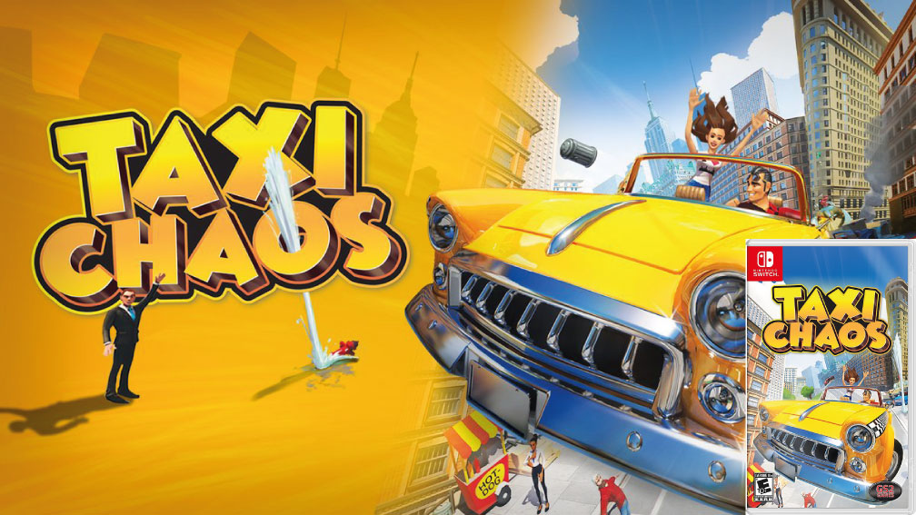 TAXI CHAOS SWITCH ROM 🎮