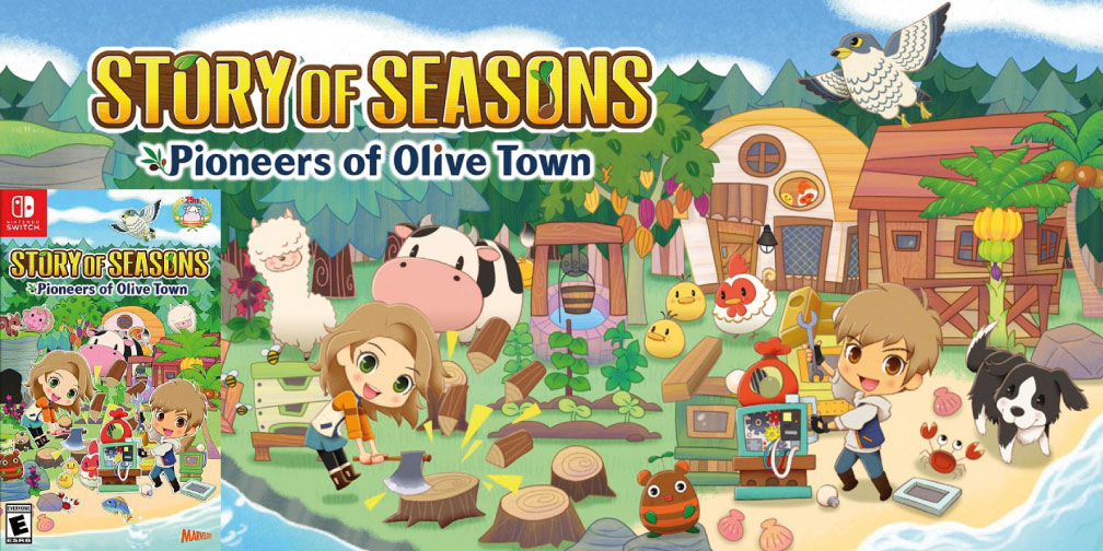 STORY OF SEASONS PIONEERS OF OLIVE TOWN SWITCH