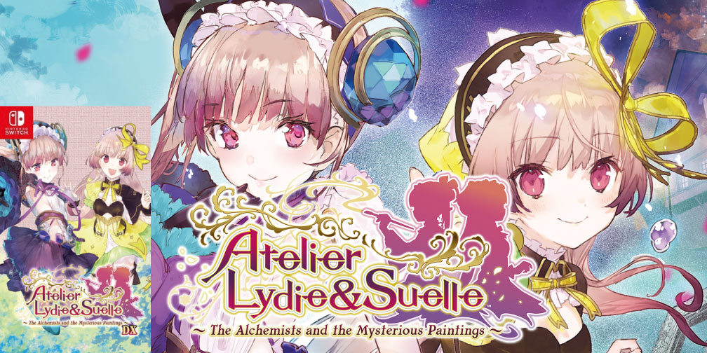 ATELIER LYDIE & SUELLE THE ALCHEMISTS AND THE MYSTERIOUS PAINTINGS SWITCH ROM 🎮