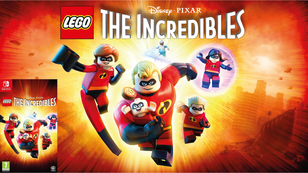 LEGO LOS INCREIBLES SWITCH ROM 🎮