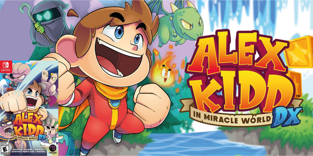 ALEX KIDD IN MIRACLE WORLD DX SWITCH ROM 🎮