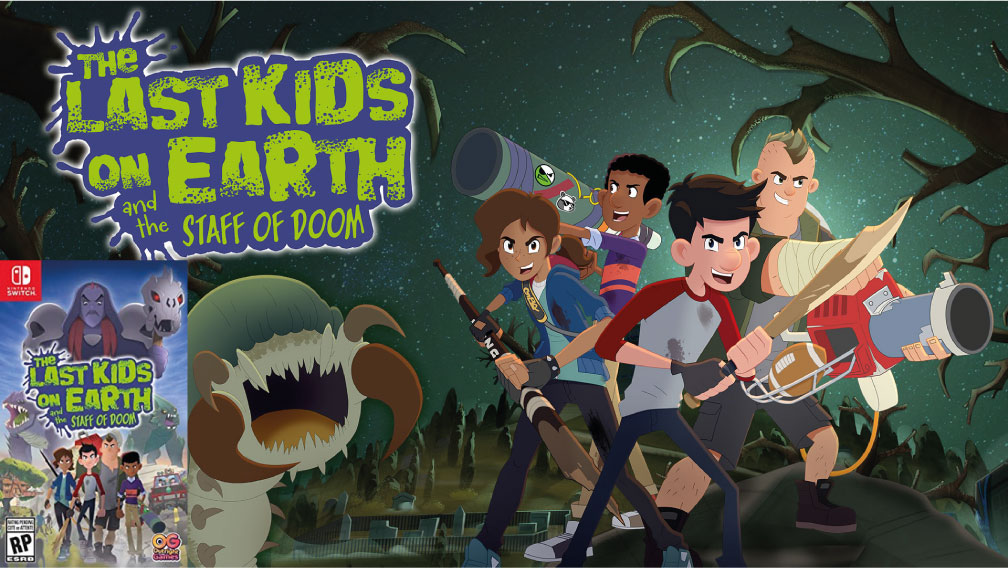 THE LAST KIDS ON EARTH AND THE STAFF OF DOOM SWITCH ROM 🎮