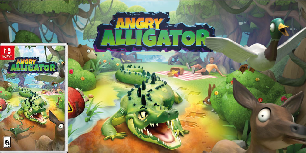 ANGRY ALLIGATOR SWITCH