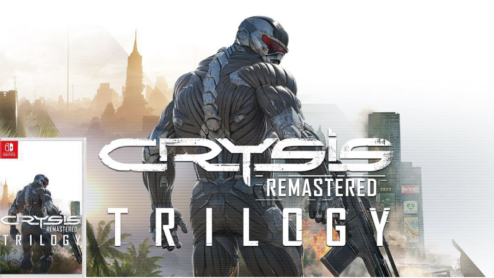 CRYSIS 3 REMASTERED SWITCH